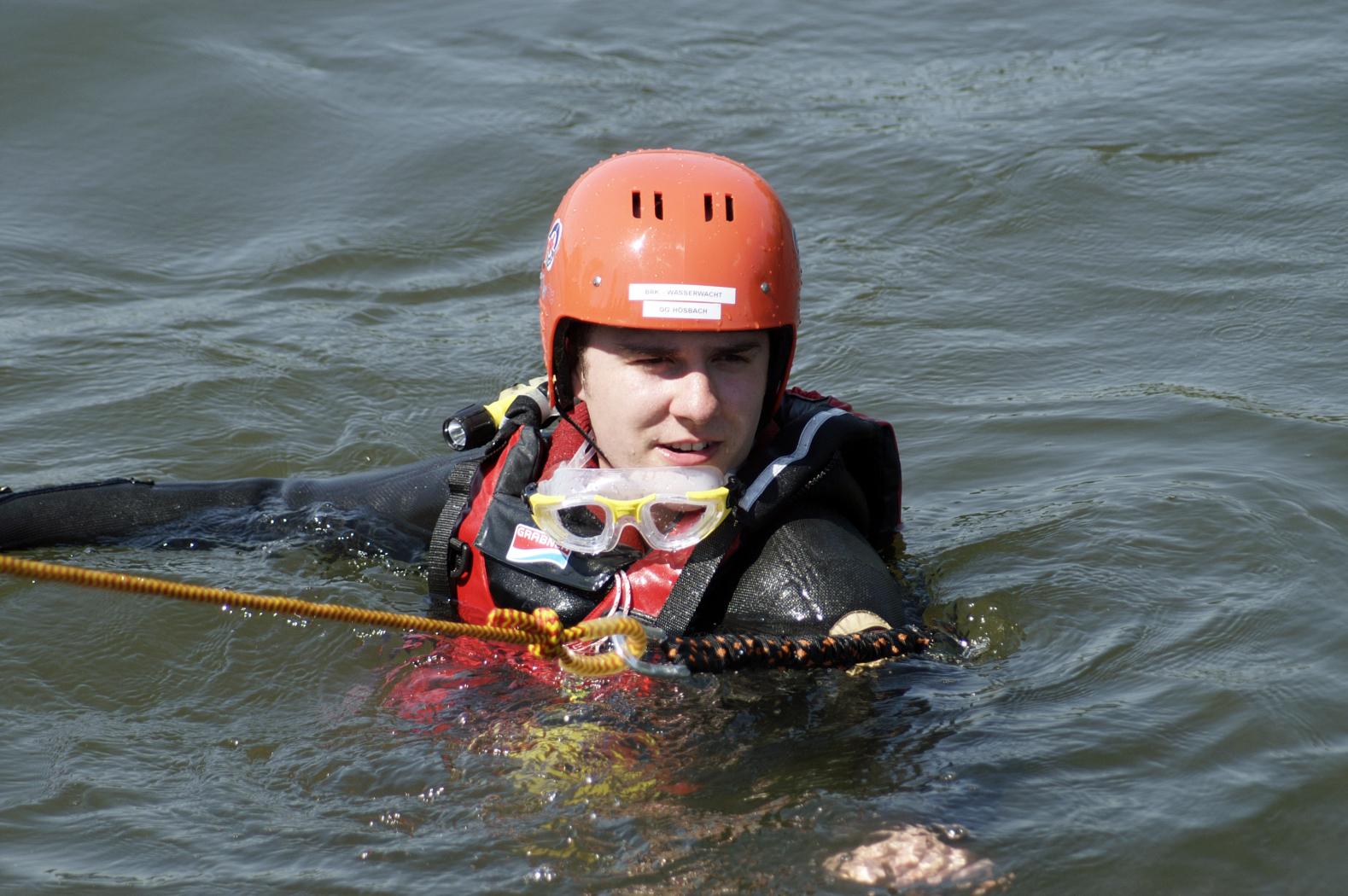 Wasserwacht Übung, 06.05.2007